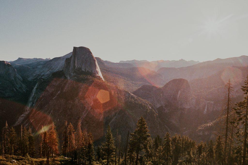 Yosemite National Park CA Film Photo